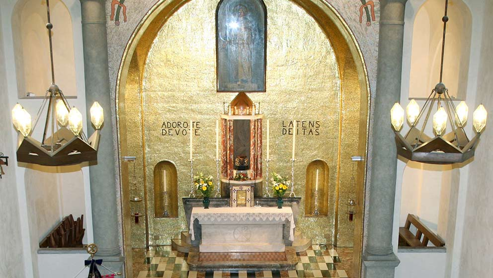 Cappella del Sacro Cuore / Chapel of the Sacred Heart