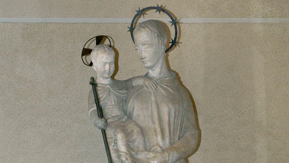 Statua dell'Immacolata Concezione / Statue of the Immaculate Conception